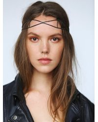 Free People - Black Forever Headpiece - Lyst