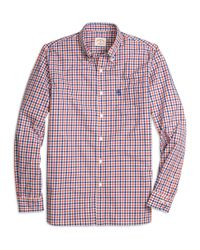 Brooks Brothers | Orange Gingham Sport Shirt for Men | Lyst