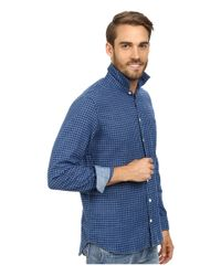 Agave | Blue Japanese Soft Clouds Long Sleeve Woven for Men | Lyst