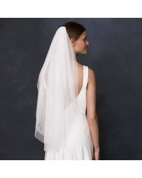 J.Crew | White Bouquet-length Veil | Lyst