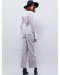 Free People | Green Roscoe Workwear Jumper | Lyst