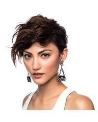 Lulu Frost - Larkspur Drop Earring - Black - Lyst