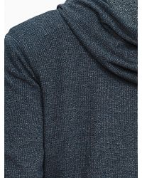 Banana Republic | Gray Waffle-knit Hoodie for Men | Lyst