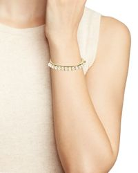kate spade new york - Metallic Delight Bangle - Lyst