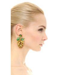 Tory Burch - Metallic Brynn Drop Earrings - Lyst