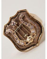 Vivienne Westwood - Brown Calista Ring - Lyst