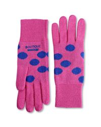 Boutique Moschino - Pink Gloves - Lyst