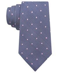 Tommy Hilfiger - Blue White Dot Tie for Men - Lyst
