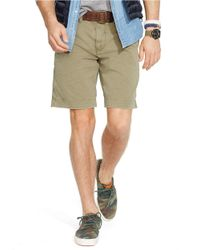 Polo Ralph Lauren | Green Relaxed-Fit Twill Surplus Shorts for Men | Lyst