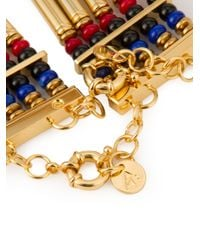Ambush - Metallic Multi Straps Beaded Chocker Necklace for Men - Lyst
