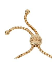 Caroline Creba | Pink 18ct Rose Gold Plated Titania Friendship Bracelet | Lyst