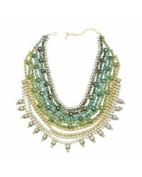 Doloris Petunia | Multicolor Marrakech Statement Collar, Green | Lyst