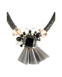Ziba - Metallic Aspasia Statement Necklace - Lyst