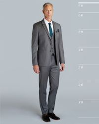 Ted Baker - Gray Wool Suit Jacket for Men - Lyst