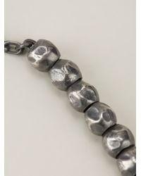 Bottega Veneta - Metallic Beaded Necklace for Men - Lyst