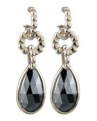John Hardy - Metallic Bedeg Hematite Drop Earrings - Lyst