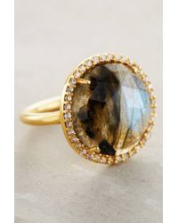Indulgems | Blue Rosaline Ring | Lyst