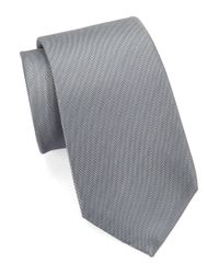 Vince Camuto | Gray Solid Silk Tie for Men | Lyst