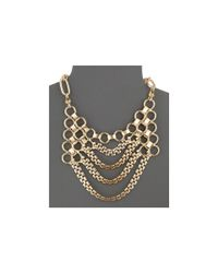 DANNIJO | Metallic Jackson Bib Necklace | Lyst