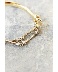Han Cholo - Metallic Bone Bracelet for Men - Lyst