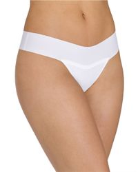 Hanky Panky | White Bare Eve Natural-rise Thong | Lyst