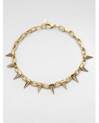 Joomi Lim | Metallic Spiked Chain Necklace | Lyst