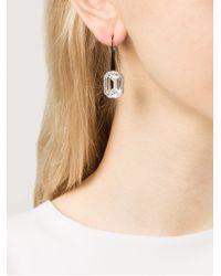 Rebecca | Multicolor Elizabeth Single Stone Earrings | Lyst