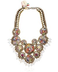 Sveva Collection | White Sherazad Necklace | Lyst