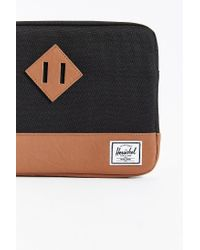 Herschel Supply Co. | Black Heritage Sleeve For 12inch Macbook | Lyst