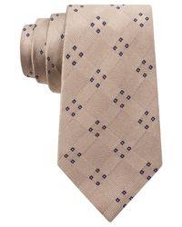 Michael Kors - Natural Michael Four Point Spread Tie for Men - Lyst
