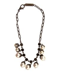Weekend by Maxmara | Natural Okra Necklace | Lyst