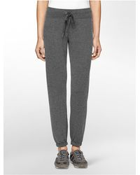 Calvin Klein - Gray Performance Banded Ankle Sweatpants - Lyst