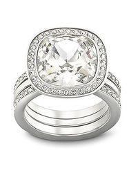 Swarovski | Metallic Simplicity Ring | Lyst