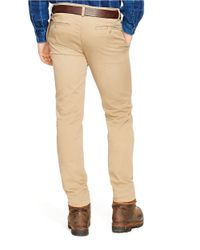 Polo Ralph Lauren   Brown Slim-fit Bedford Chino Pants for Men   Lyst