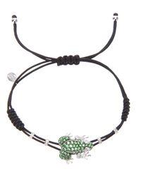 Pippo Perez - Black Frog Bracelet - Lyst