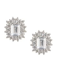 CZ by Kenneth Jay Lane | Multicolor Earrings | Lyst