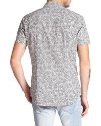 DIESEL - Gray Paisley Sportshirt for Men - Lyst