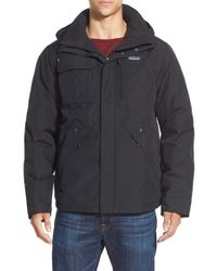 Patagonia | Black 'wanaka' Waterproof Down Parka for Men | Lyst