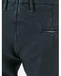Incotex - Blue Classic Slim Chinos for Men - Lyst