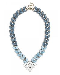 BaubleBar | Blue Marble Garland Brooch Collar | Lyst
