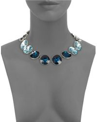 Catherine Stein | Blue Jeweled Collar Necklace | Lyst