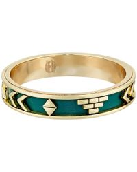 House of Harlow 1960 | Green Aztec Bangles | Lyst