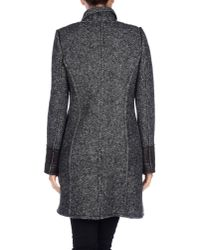 Alysi - Gray Coat - Lyst