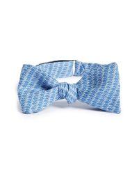 Vineyard Vines - Blue 'whale Links' Silk Bow Tie for Men - Lyst