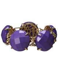 Kendra Scott | Purple Cassie Bracelet | Lyst