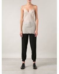 Organic By John Patrick - Natural Basic Camisole - Lyst