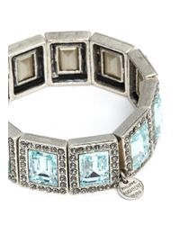 Philippe Audibert | Blue Elea Square Stone Bracelet | Lyst
