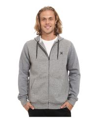 Hurley | White Getaway Fleece Zip for Men | Lyst
