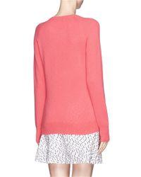 Equipment - Pink Sloane' Cashmere Crew Sweater - Lyst