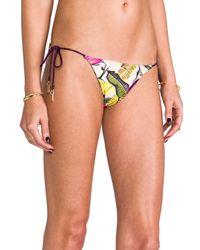Zimmermann | Multicolor Vivid Reversible Tri Bikini in Cream | Lyst
